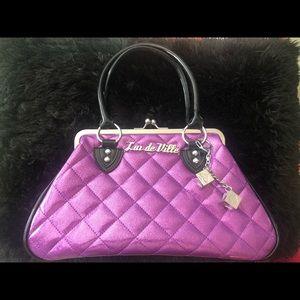 *NEW* Vintage Lux de Ville Vegas kisslock bag 💜✨